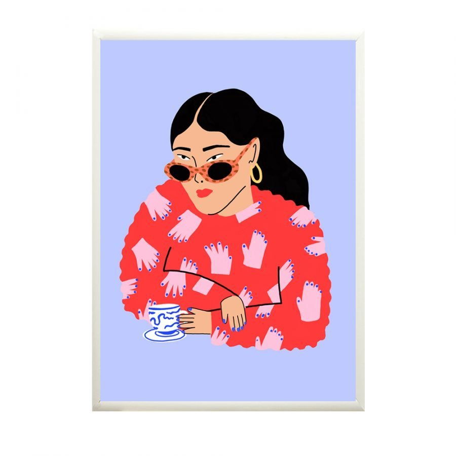 NICKI BLACKBEARD TEA FOR ONE AT HUMANITY HANOI