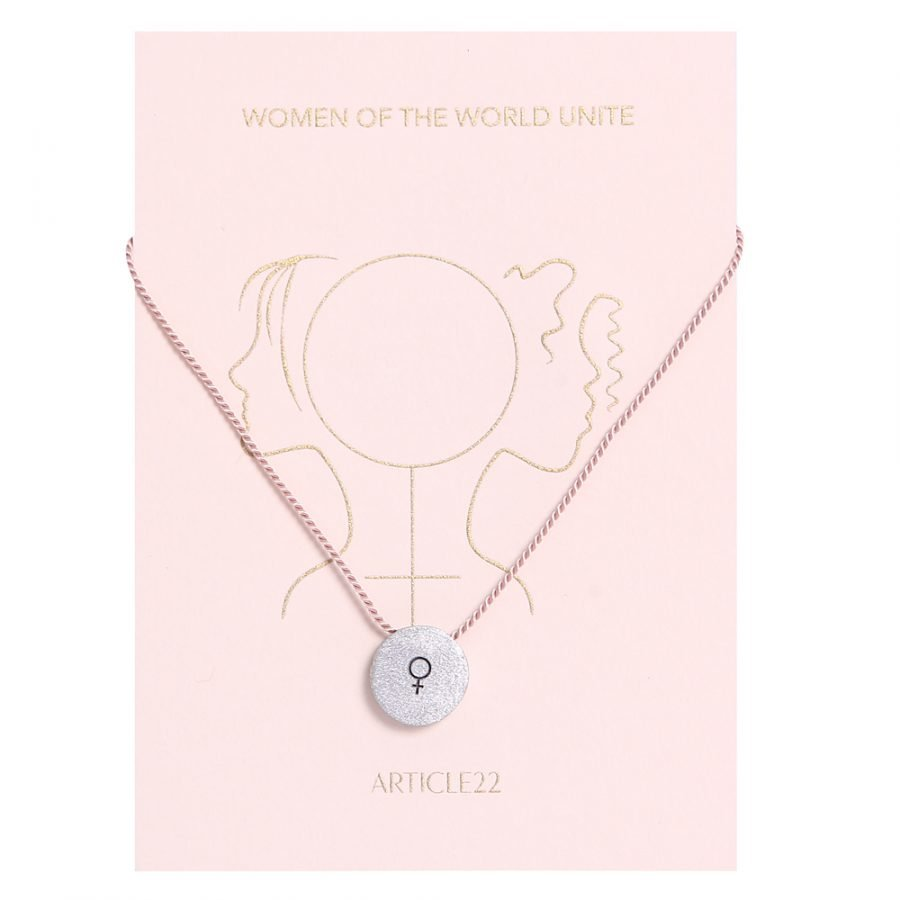 ARTICLE 22 WOMEN OF THE WORLD UNITE NECKLACE AT HUMANITY HANOI